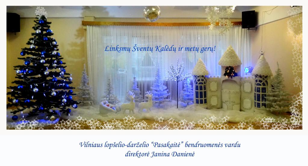 Kalėdinis sveikinimas 2015 m